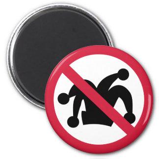 No carnival fools cap magnets