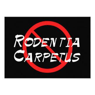 No Carpet Rats Custom Announcement