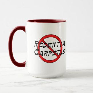 No Carpet Rats Mug