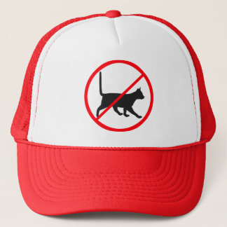 No Cats Allowed! Trucker Hat