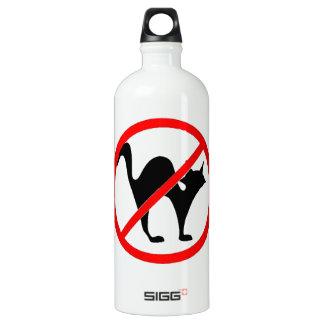No Cats?! Aluminum Water Bottle