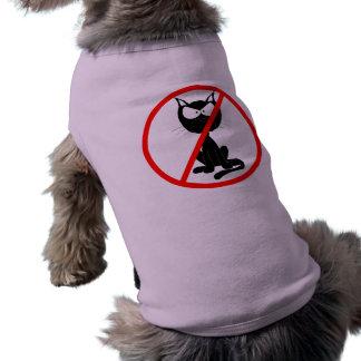 No Cats Dog Tee Shirt