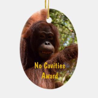 No Cavities Dentist Award Ceramic Ornament
