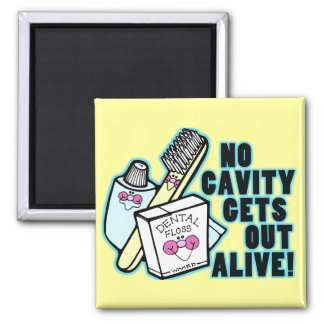 No Cavity Gets Out Alive Magnet