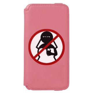 No Cell Phone Bride at Wedding Incipio Watson™ iPhone 6 Wallet Case