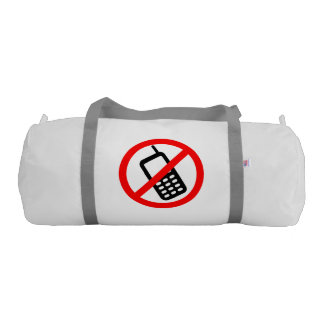 No Cell Phone Duffle Bag