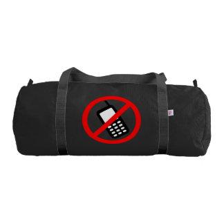 No Cell Phone Gym Bag