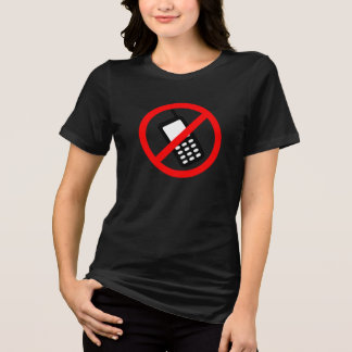 No Cell Phone T-Shirt
