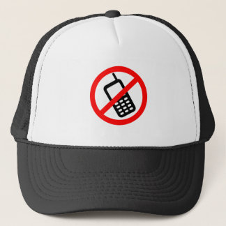 No Cell Phone Trucker Hat