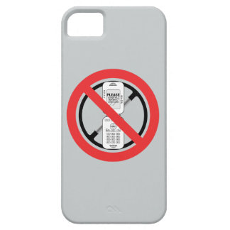 No Cell Phones iPhone SE/5/5s Case