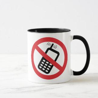 No Cell Phones Mug