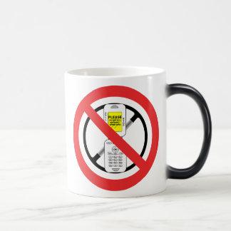 NO Cell Phones While Driving - Mug