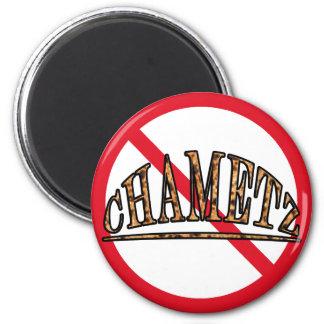 No Chametz 2 Inch Round Magnet