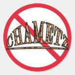 No Chametz Stickers