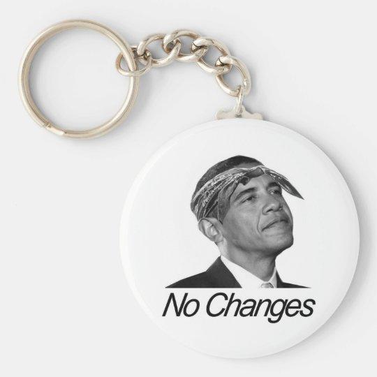 No Changes Keychain