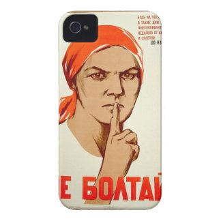 ¡No charle! La charla lleva a la traición iPhone 4 Case-Mate Cárcasa