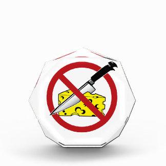 No Cheese Cutting Zone Award