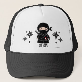 No Chi! Ninja With Shurikens Hat