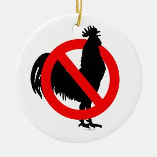 No (Chicken) Ornament