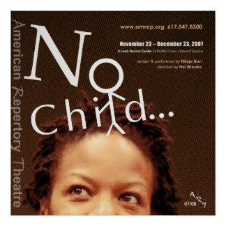 no child30x30 2 posters