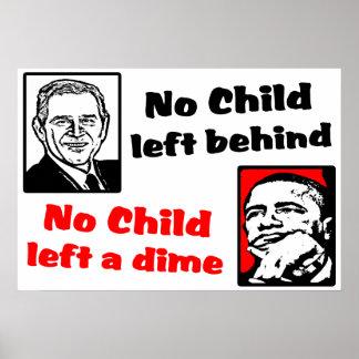 No Child Left A Dime! Print