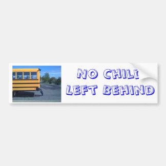 No Child Left Behind Bumper Sticker