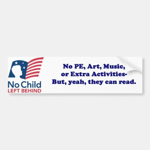 no child left behind research