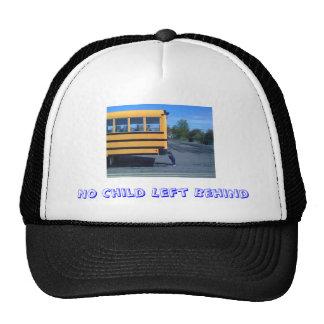 No Child Left Behind Trucker's Hat