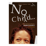 no child... poster