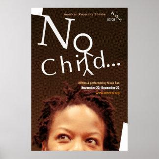 no child... poster
