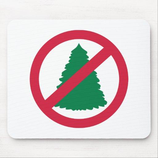 No christmas fir tree mouse pad
