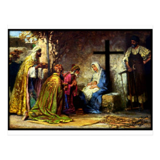 No Christmas Without The Cross Postcard