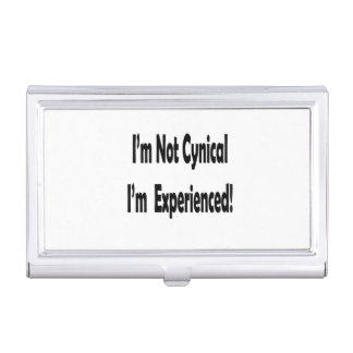 no cínico me experimentan en negro cajas de tarjetas de visita