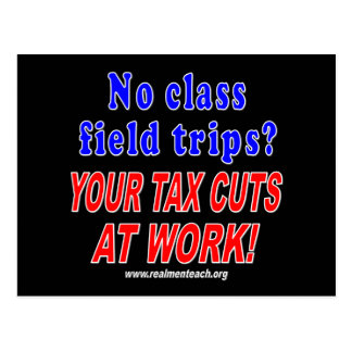No class field trips black postcard