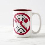 No Clowns Coffee Mug