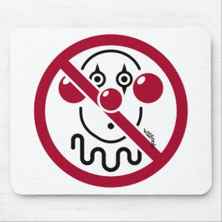 No Clowns Mouse Pad