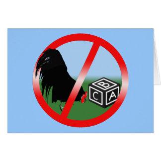 No Cockblocking Card
