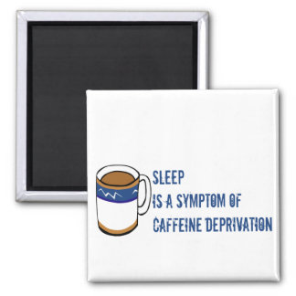 No Coffee 2 Inch Square Magnet