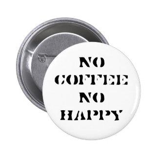 No coffee, No happy Button