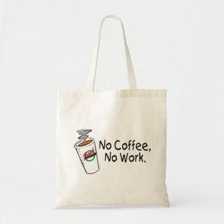 No Coffee No Work Tote Bag