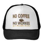 No Coffee No Workee Film Director Hat