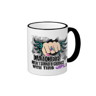 No coloca a un cáncer de tiroides de la ocasión taza de café