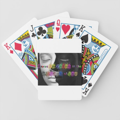 NO color in the Kingdom Bicycle Playing Cards