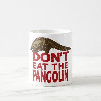 No coma el Pangolin Taza Clásica