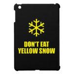 No coma la nieve amarilla iPad mini cobertura