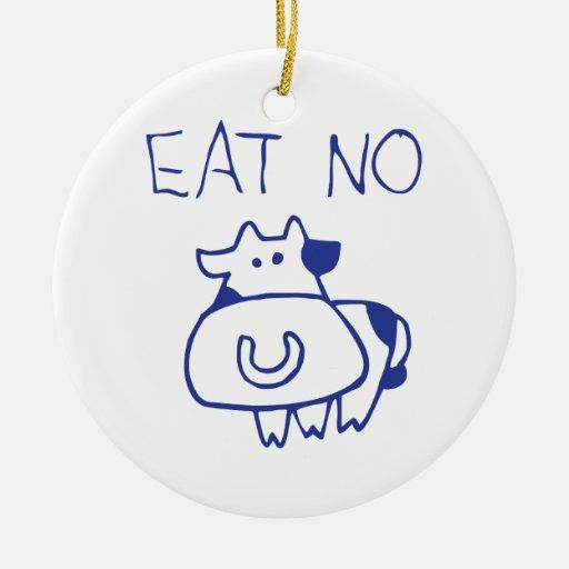 No coma ninguna vaca - blueb adorno de reyes