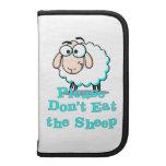 No coma por favor las ovejas planificador