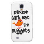 No coma por favor las pepitas