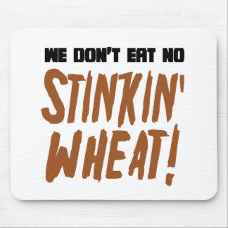 No comemos ningún gluten celiaco del trigo de Stin Alfombrillas De Ratón