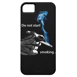 No comience a fumar… iPhone 5 funda